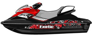 Seadoo RXP Jet Ski Graphic Kit ES0013RXP